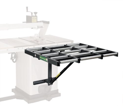 Table Saw Extension Htc Hor 1038 37 Outfeed Roller Support Table For Table Saws Supports