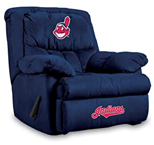 MLB Cleveland Indians Home Team Microfiber Recliner by Imperial