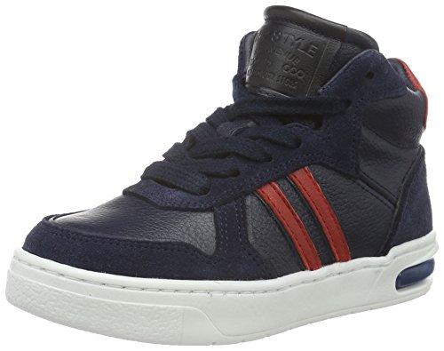 HIP H1257 Sneakers da Ragazzi, Colore Blu (46CO/DC), Taglia 36 EU