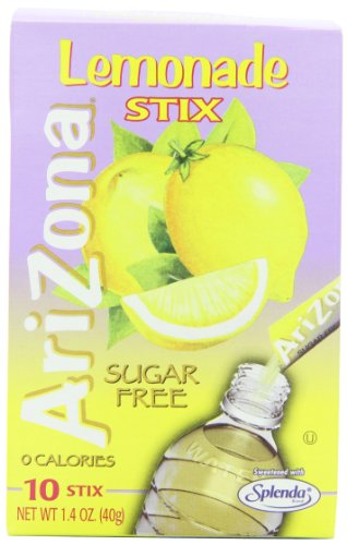 AriZona Sugar Free Lemonade, 1.4-Ounce Boxes (Pack of 6)