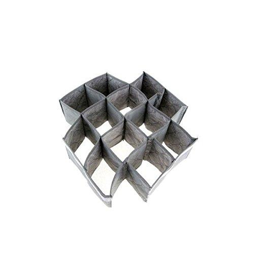 30 ATTACHES grilles pliable Chaussettes de soutien-gorge sous-vêtements stockage boîte de rangement 32 x 34 cm