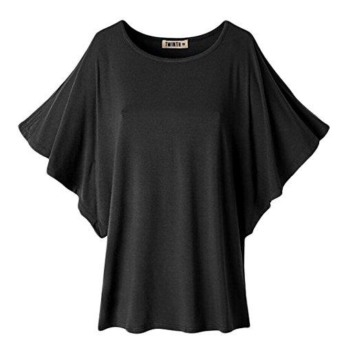 Uni-love - Camicia - Maniche lunghe  -  donna Black X-Large