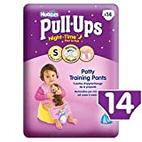Huggies Small Pull-Ups Night Time Girls 14 per pack