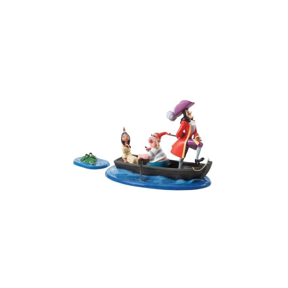 Enesco Walt Disney Classics ** Captain Hook, Mr. Smee
