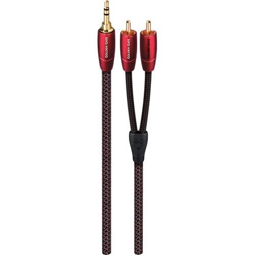Pair 1.5m AudioQuest Mackenzie XLR Audio Interconnect Cable