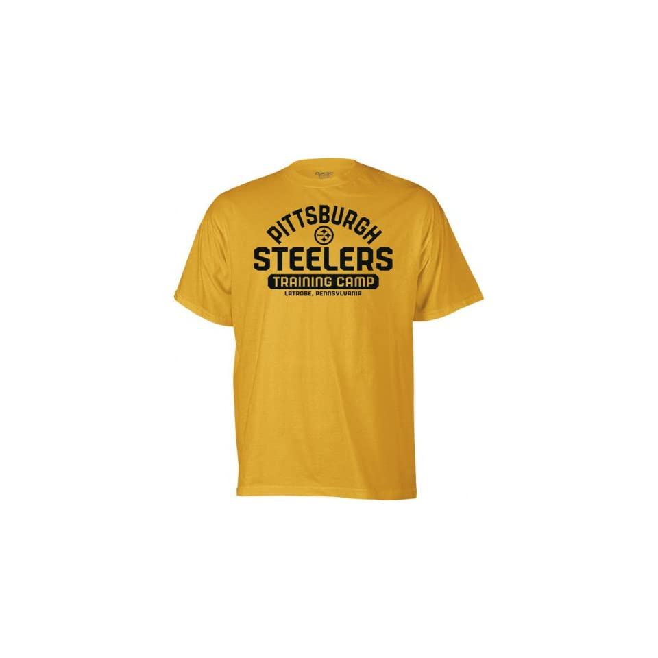 6c89945c7 Pittsburgh Steelers Gold Training Camp T Shirt Sports on PopScreen