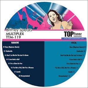 Britney Spears - Britney Spears Top Tunes M Series Karaoke Multiplex CDG TTM-119 - Zortam Music