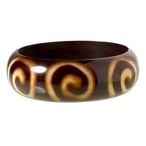 Swirly Tango Bangle Bracelet