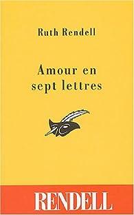 Amour en sept lettres par Ruth Rendell