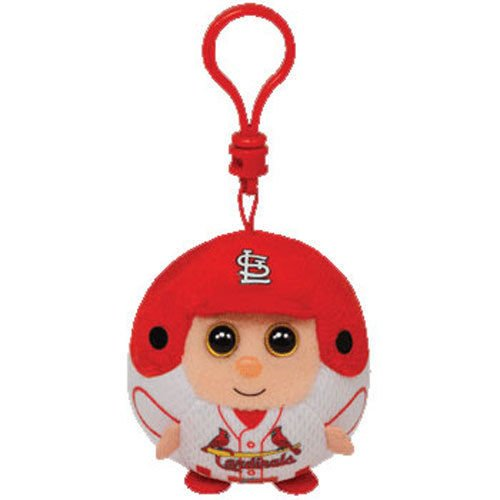 Ty Beanie Ballz MLB St Louis Cardinals Plush Toy Key Chain (Clip)