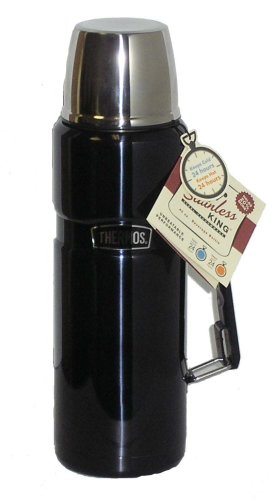 thermos stainless king flask with handle 1 2 litre blue find best buy family dome camping tent. Black Bedroom Furniture Sets. Home Design Ideas