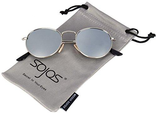 SojoS -  Occhiali da sole  - Donna argento