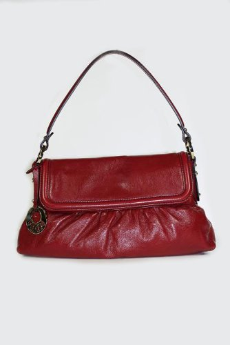 Fendi Handbags Red Leather Chef 8BR445 &#8211; RXG