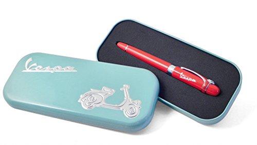 stylo-a-bille-avec-pendant-vespa-avertisseur-sonore-beige-dans-une-boite-cadeau