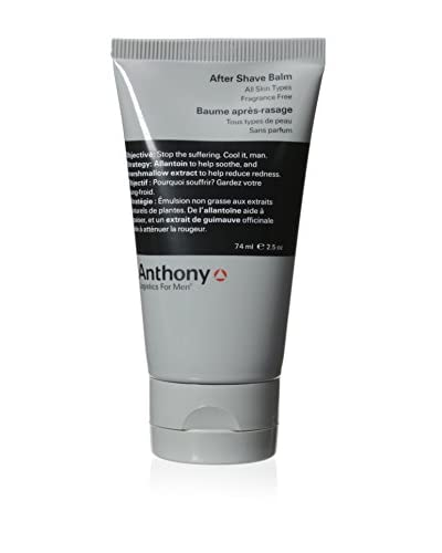 Anthony Logistics After Shave Balm, 2.5 oz
