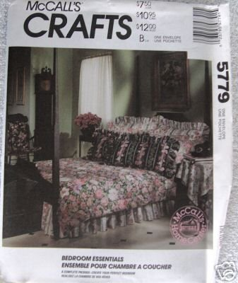 Mccall'S Crafts: Bedroom Essentials (Comforter, Shams, Bedskirt, Accessories) (Pattern #5779) front-875245