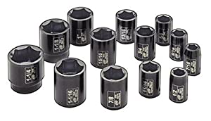 Ingersoll Rand SK4H13 1/2-Inch Drive 13-Piece SAE Standard Impact Socket Set from Ingersoll Rand