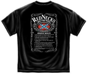 Redneck T-Shirt Rednecks Old Time Rules Funny