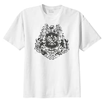 Vintage Lions Crest T-Shirt (Big and Tall and Regular Sizes)