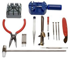 SE - Watch Repair Tool Kit, 16 Pc