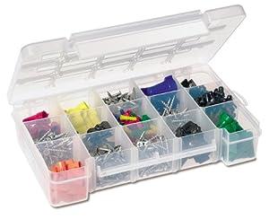 Akro-Mils 5805 Plastic Parts Storage Case for Hardware and Craft, Medium