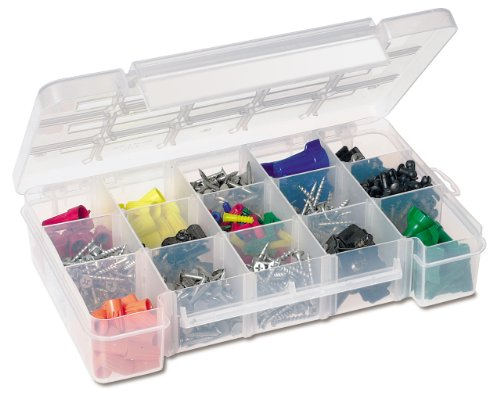 Akro-Mils 5805 Plastic Parts Storage Case for Hardware and Craft, Medium