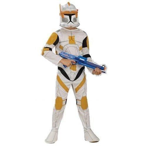 [Clone Trooper Commander Cody Costume - Medium] (Clone Trooper Commander Cody Child Costume)