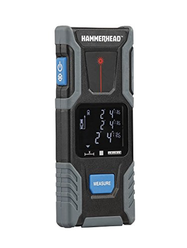 HAMMERHEAD HLMT100 Compact Laser Measuring Tool - 100 Feet (Digital Measuring Device compare prices)