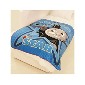 Kids/Childrens Thomas the Tank Engine Fleece Blanket/Throw over Blanket Bedding