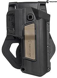 Recover Tactical Tan Button Active Retention 2 Tone HC11 CC3 H Grip & Rail System, Left