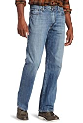 Lucky Brand Men's 181 Relaxed Straight Leg Jean In Light Cardiff