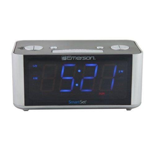 Emerson Radio Corp. Cks1708 Smartset Radio Alarm Clock Led