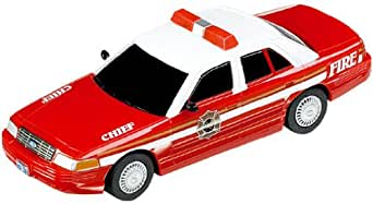 """Carrera USA Go, Ford Crown Victoria """"Fire Chief"""" Car"""