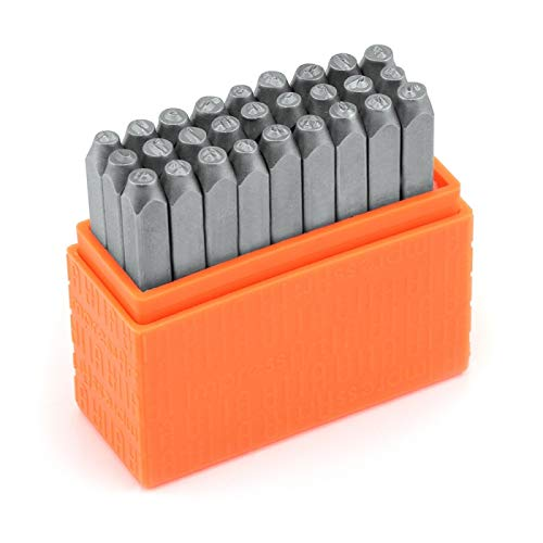 ImpressArt Basic Bridgette Lowercase Letter Metal Stamp Set, Steel Punches for Metal Stamping & More (Color: Lowercase)