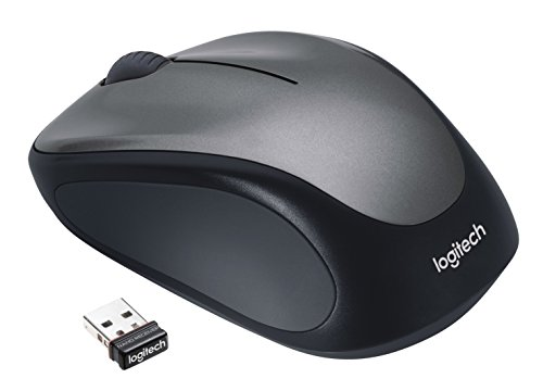 Logitech M235 Wireless Mouse - Black/Grey