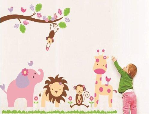 Hunnt® Nursery Wall Sticker Decals For Boys And Girls Children'S Wall Décor Art Sticker Decals