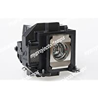 Replacement projector lamp for Epson V13H010L57, ELPLP57