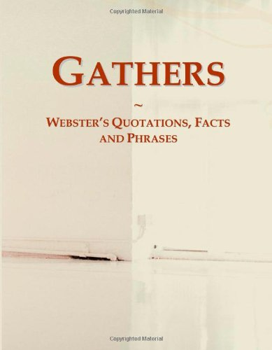 Gathers: Webster'S Quotations, Facts And Phrases front-542413