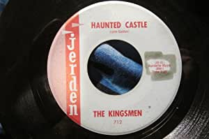 Kingsmen Louie Louie Haunted Castle 45 Rpm Single