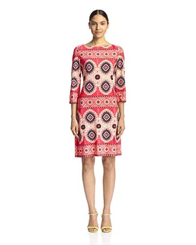 London Times Women's Printed Shift Dress