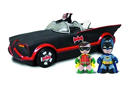Mezco Toys Mini Mez-Itz: 1966 Batmobile with Batman and Robin by Mezco Toys TOY (English Manual)