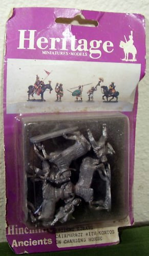 Heritage 3100 25mm Ancient Romans Cataphract w/ Kontos - 1