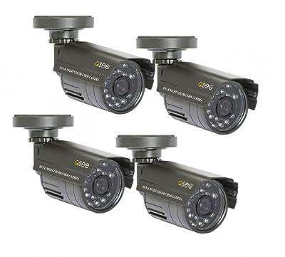 Q-See QM4803B-4 Surveillance System (Gray)