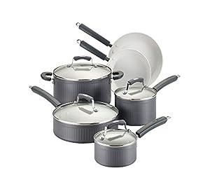Paula Deen Savannah Collection Hard-Anodized Nonstick 10-pc. Cookware Set