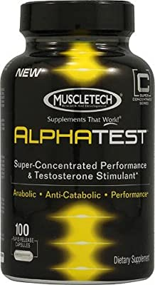 Muscletech Alpha Test Booster, 100 caps