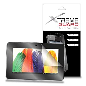 "XtremeGuardTM Supersonic Matrix 9.1"" Tablet Screen Protector (Ultra Clear) at Electronic-Readers.com"
