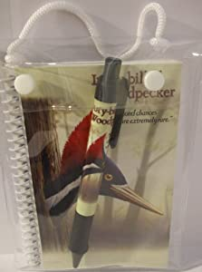 Ivory Billed Woodpecker - Notebook and Pen Set