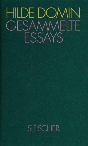 Gesammelte Essays: Heimat in der Sprache