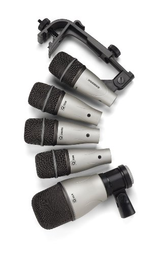 Samson 5Kit 5-Piece Drum Microphone Set