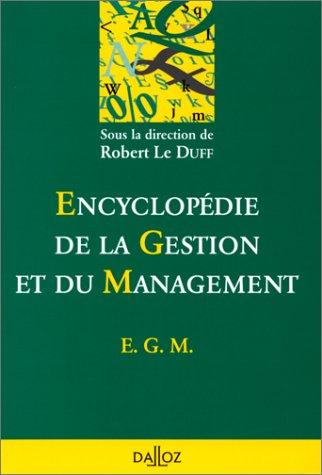 Encyclopédie de la gestion et du management